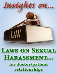 Sexual harassment laws for doctors and patients