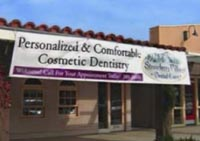 Strawberry Village Dental Care banner signage