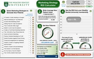 Marketing strategy ROI calculator
